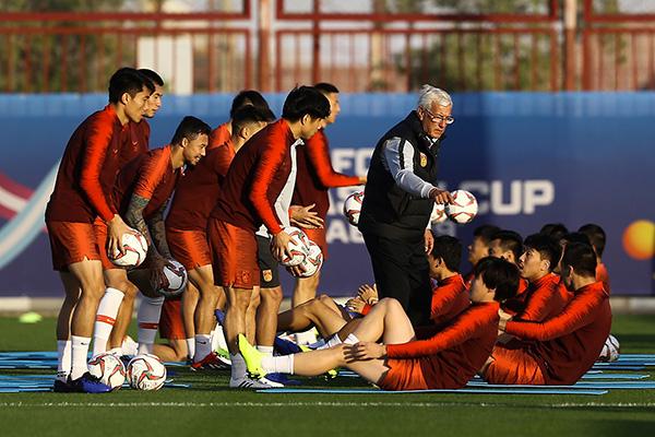 国足世预赛主场初定广州天河,里皮23日返京集结国脚