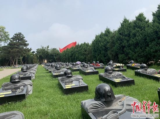 八宝山革命公墓烈士纪念园正式落成