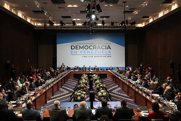 讨论委局势50国会议变成美制裁展示,博尔顿称对话时间结束