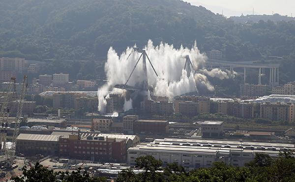 意大利热那亚公路桥坍塌调查:保养维护不善是主因