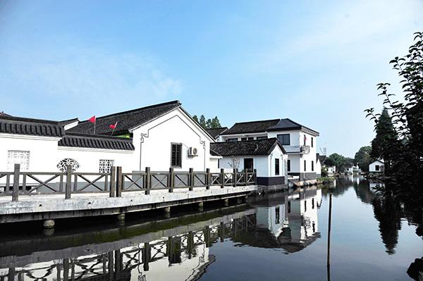"""""""白墙青瓦江南味"""",上海莲湖村打造属于自己的振兴模式"""