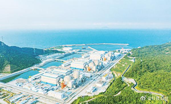 全球最大轻水压水堆核电站诞生,阳江核电站6台机组投运