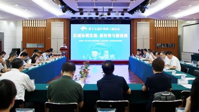 """沪津深三城:推动区域协调发展从""""共行""""到""""共赢"""""""