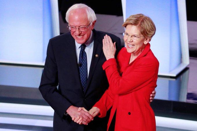 <b>美国民主党第二轮电视辩论:进步自由派突围,女作家最受关注</b>