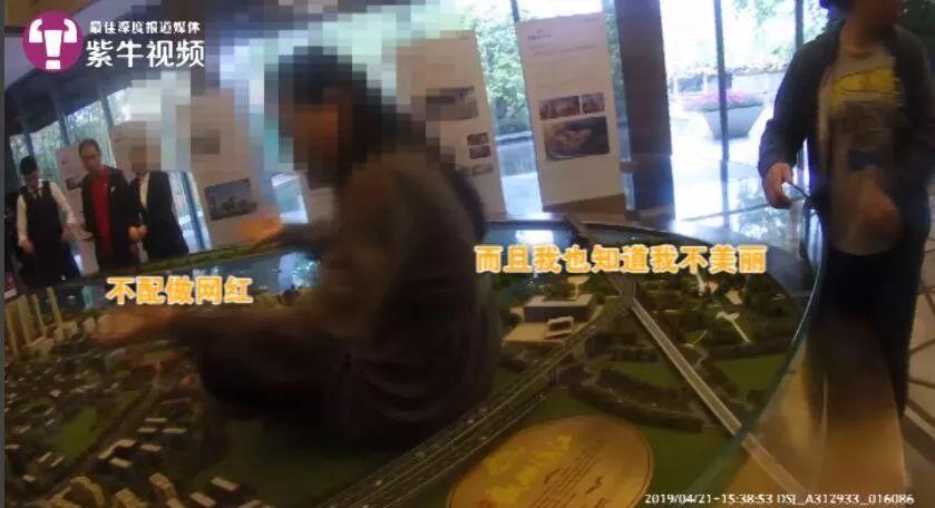 南京女业主坐沙盘维权:因毁坏财物被判拘役3个月,缓期执行