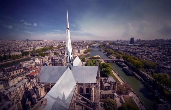 """畅想巴黎圣母院重建,中国建筑师谈获奖作品""""巴黎心跳"""""""