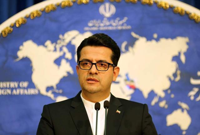伊朗外交部发言人穆萨维。 视觉中国 材料图