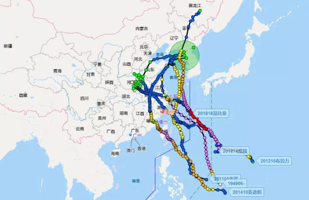 注意 明天台风 利奇马 将再次登陆山东 注意防范暴雨山洪
