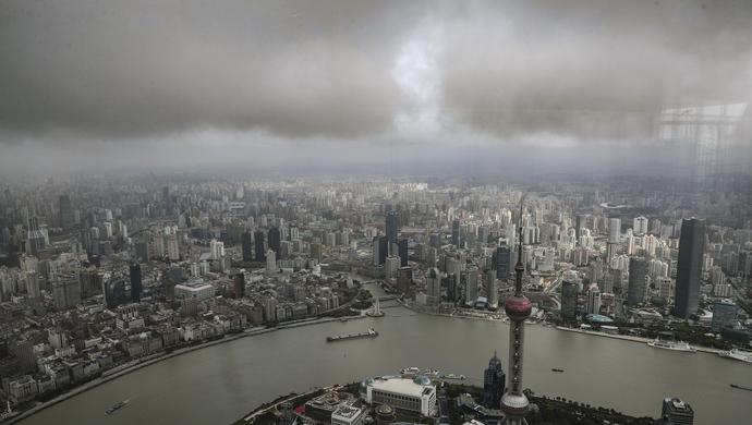 上海市气象局:台风利奇马已减弱,10日还有两个降水高峰