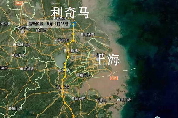 上海解除台风预警,改挂大风蓝色预警!