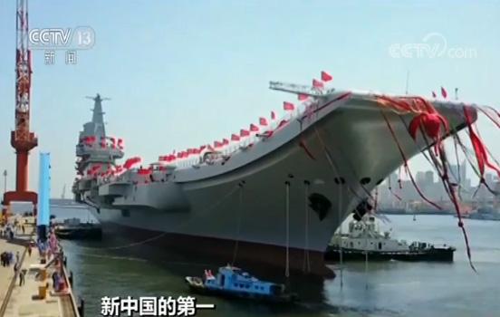 中国第一艘国产航母时间轴:5月31日完成第六次海上试验
