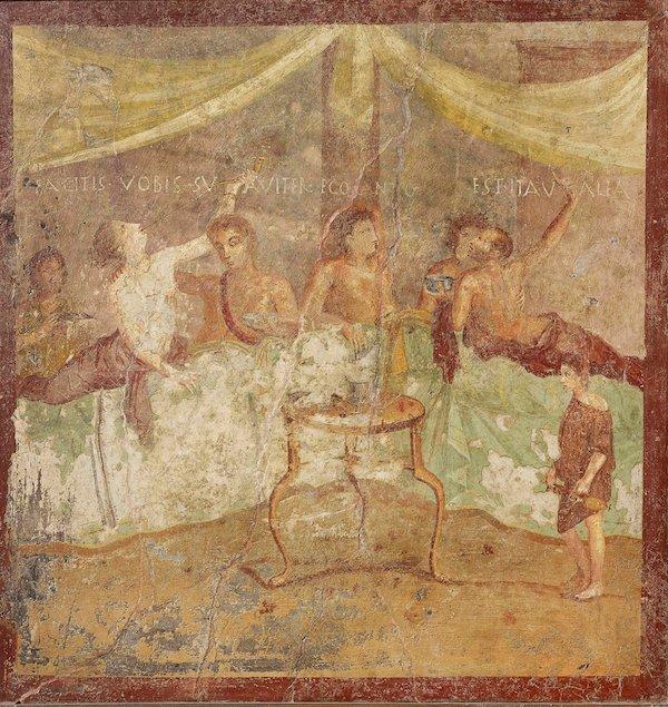 """两千年前""""庞贝的最后晚餐"""":榛睡鼠和鱼子酱"""