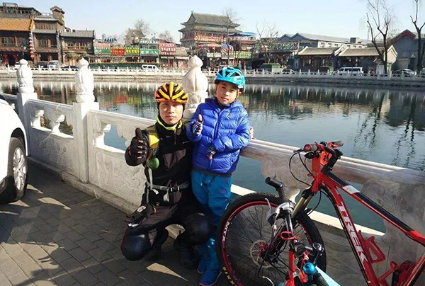 <b>父子相伴骑行1800公里,自行车会成为教育的新方式吗</b>
