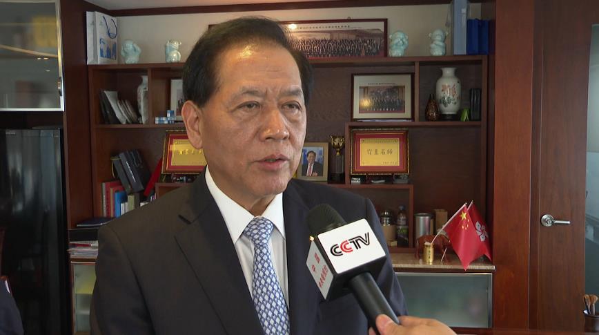 """香港友好协进会副会长:全港要向暴徒和乱港势力说""""不"""""""