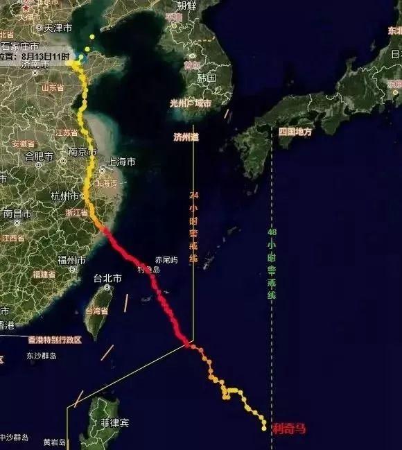 中国史上最强台风盘点:利奇马风雨强度58年来最大