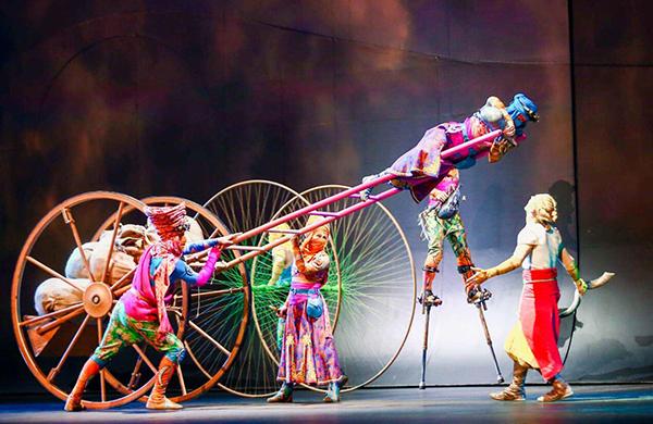 不再需要去拉斯维加斯,杭州有了太阳马戏第一个亚洲驻场秀