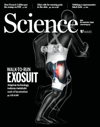 """《科学》封面研究:这个机械外骨骼,是一条""""轻功""""短裤"""