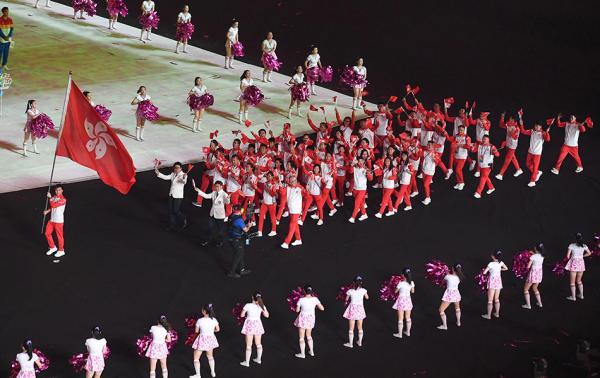 游泳破11年纪录,现场满满掌声,中国香港队二青会收获感动