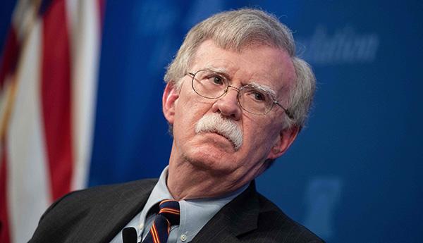美国安顾问博尔顿访英,或敦促约翰逊政府对伊朗更强硬