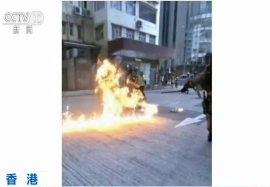 专访香港受伤警员:示威若诉诸暴力,警方会果断执法