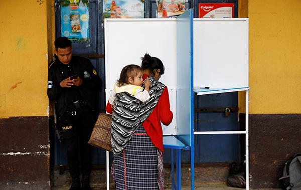 """危地马拉选举新总统,与美国的""""安全第三国""""协议成焦点"""