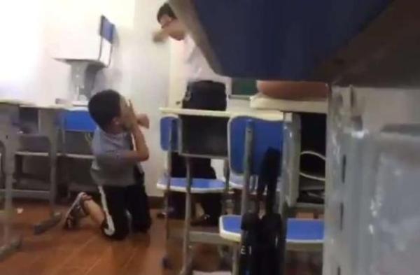 重庆某教育机构教师打学生事件续,官方:已对该机构查封取缔