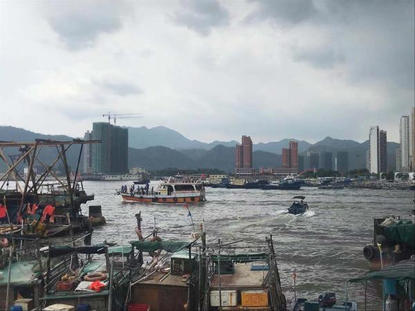 广东惠州澳头千帆出港,开渔第一天渔民收获颇丰