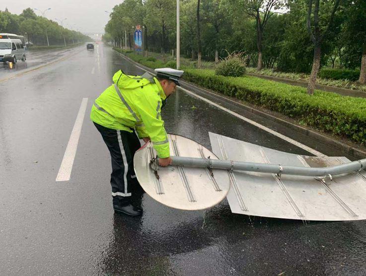 新时代新作为新篇章|因为他们,台风期间上海没发生重大险情