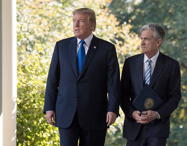 全球央行行长年会将至,特朗普呼吁美联储降息至少1个百分点