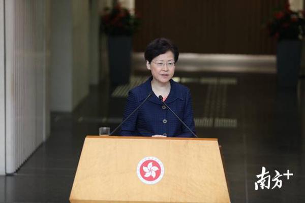 林郑月娥答问:深圳建设先行示范区,对香港有积极正面作用