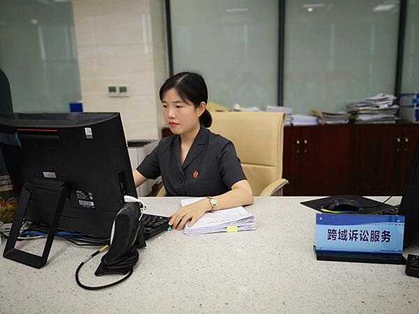 """<b>建跨域立案""""高速公路"""",上海金山法院受理首例沪浙跨域立案</b>"""