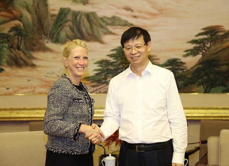霍尼韦尔高级副总裁:希望未来在上海进一步探索扩大业务发展