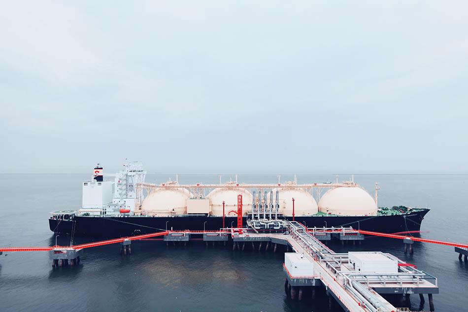 <b>中石化天津接收站接卸第100船LNG,月接船量维持高位</b>