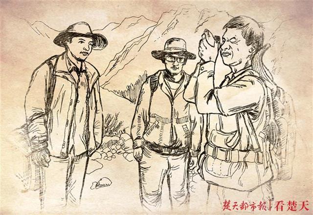 地大教师创作连环画:反映新中国成立以来地质工作者精神面貌