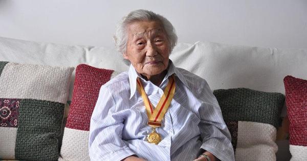 102岁东北抗联女战士李在德逝世