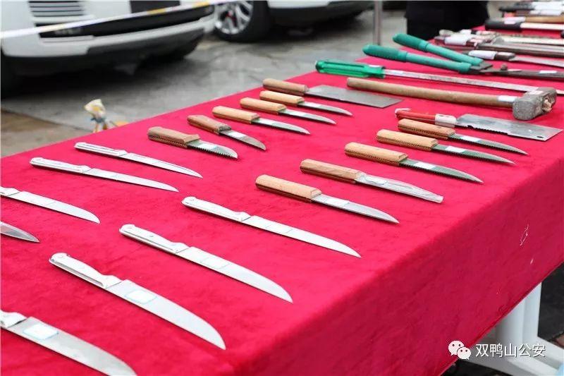 强势亮剑 双鸭山市公安局举行扫黑除恶专项斗争阶段性成果展