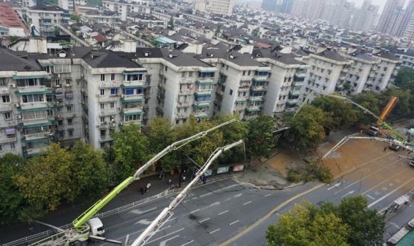 杭州建国北路树园小区内一幢楼系危房,已疏散700余户