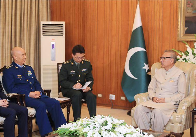 巴基斯坦总统与总理会见许其亮