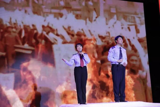 """兴隆县举行""""歌颂祖国 赞美新时代"""" 诗词朗诵会"""