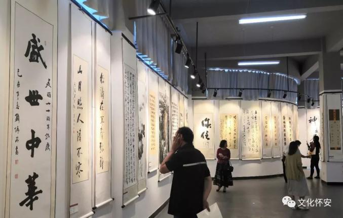 今日,怀安县庆祝新中国成立70周年怀安县