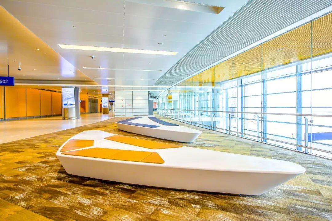浦东国际机场S2卫星厅候机区