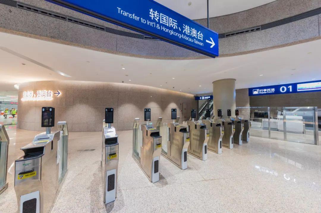 浦东国际机场S1卫星厅中转区