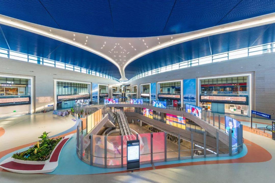 浦东国际机场S1卫星厅国际出发层