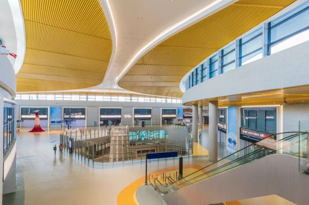 浦东国际机场S2卫星厅国际出发层2