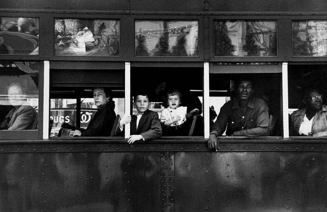 《电车》(1955年拍摄于新奥尔良)