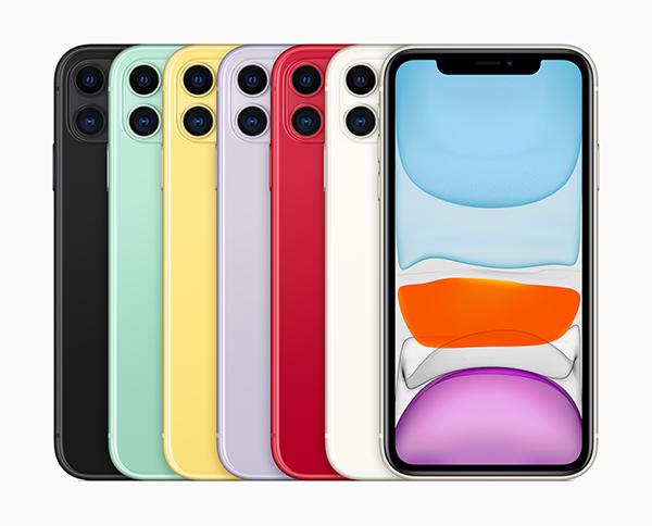 iPhone 11。