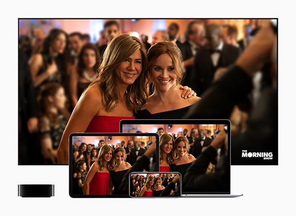 苹果原创节目《The Morning Show》 将在11月1日正式发布,该节目的制片人包括知名影星Reese Witherspoon和Jennifer Aniston。