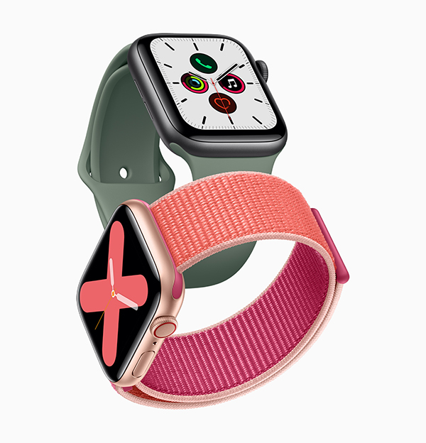 Apple Watch Series 5。