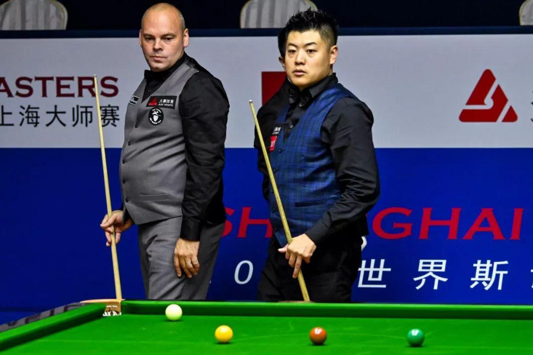 梁文博以6-4的比分将世界冠军宾汉姆淘汰。