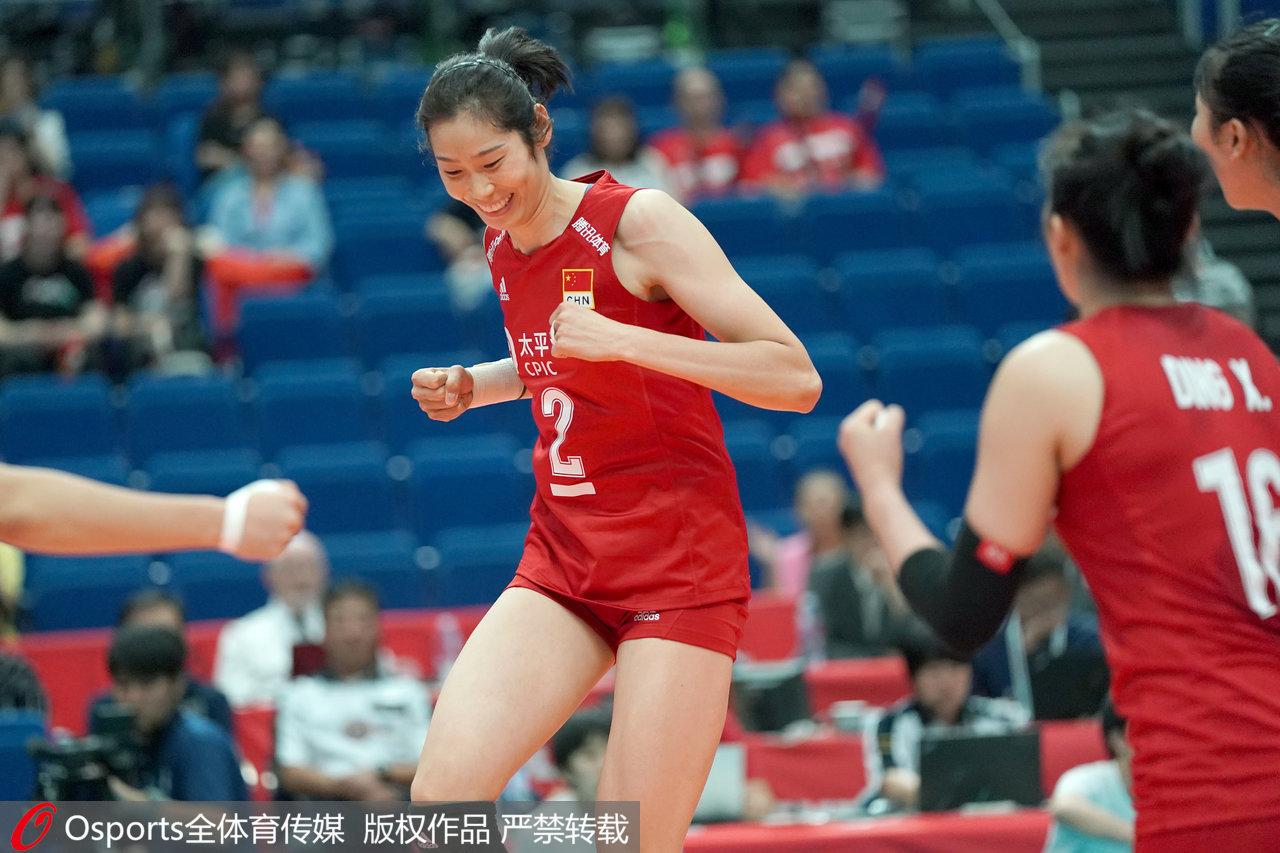 延续胜利脚步!中国女排3-0多米尼加,收获世界杯四连胜